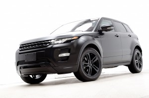 Custom Flat Black 2012 Range Rover Evoque Dynamic