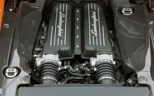 Lamborghini Gallardo Engine