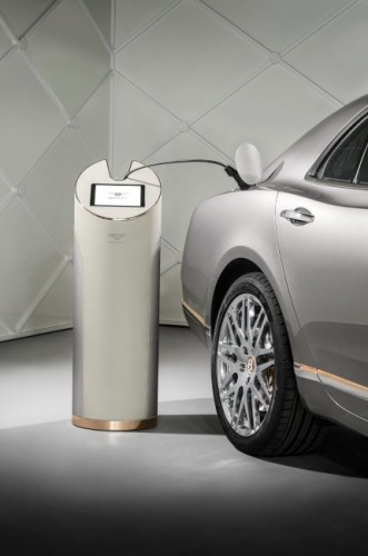 Bentley Hybrid Concept Charging Station